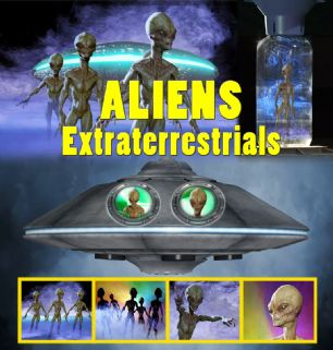 ALIENS - EXTRATERRESTRIALS - DIGITAL DOWNLOAD OR USB